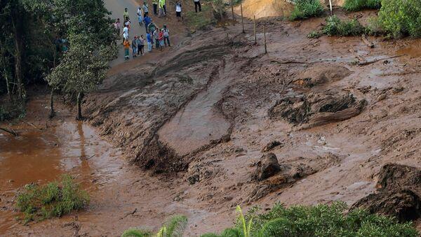 Důsledky prolomení hrází v Brazílii - Sputnik Česká republika