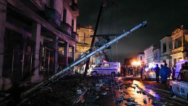 Havana po zemětřesení - Sputnik Česká republika