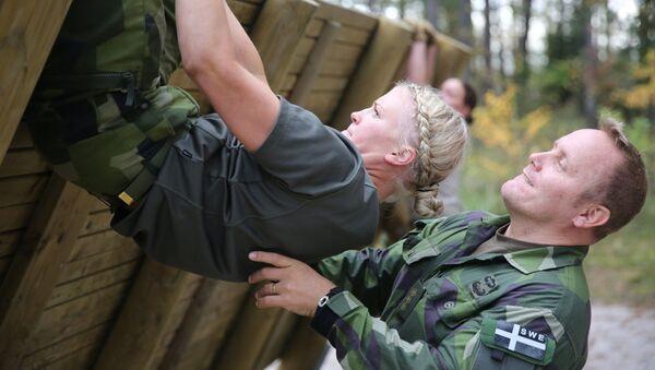 Trénink švédských kadetů. Ilustrační foto - Sputnik Česká republika