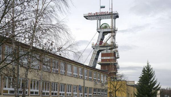 Mědný důl Rudna v polských Polkowicích - Sputnik Česká republika