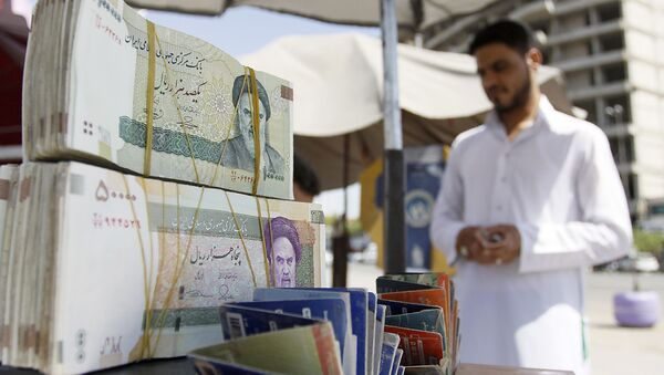 Íránská měna ve městě Nadžaf - Sputnik Česká republika