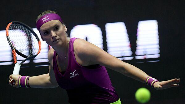 Tereza Martincová na turnaji v Petrohradu - Sputnik Česká republika