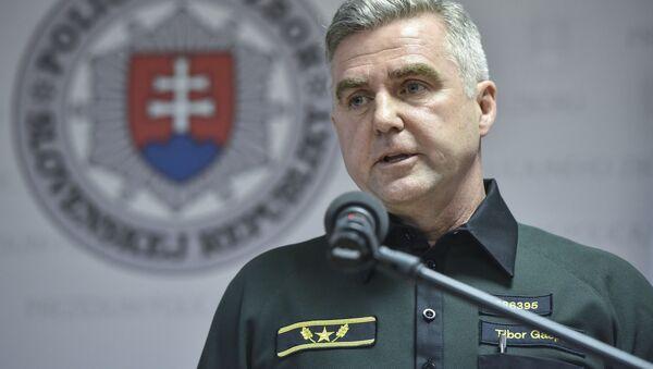Bývalý prezident policejního sboru SR Tibor Gašpar - Sputnik Česká republika