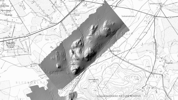 Obrázek Kwenegu vytvořený pomocí laserových paprsků - Sputnik Česká republika