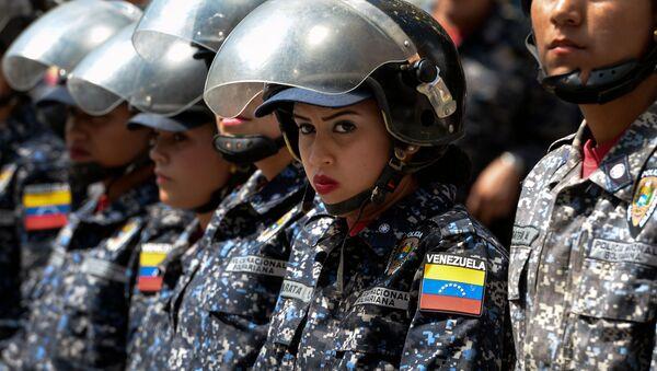 Policisté ve Venezuele - Sputnik Česká republika
