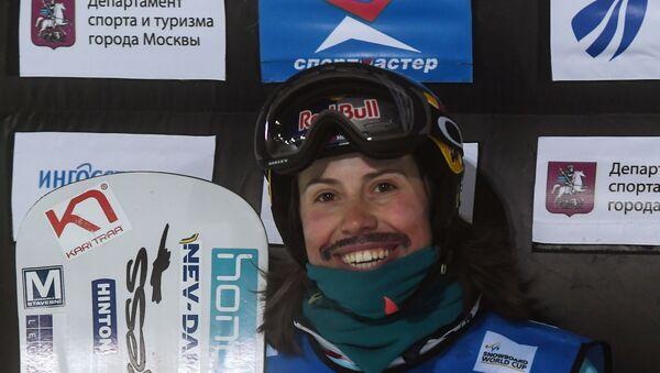 Eva Samková při Světovém poháru 2018 v Moskvě - Sputnik Česká republika