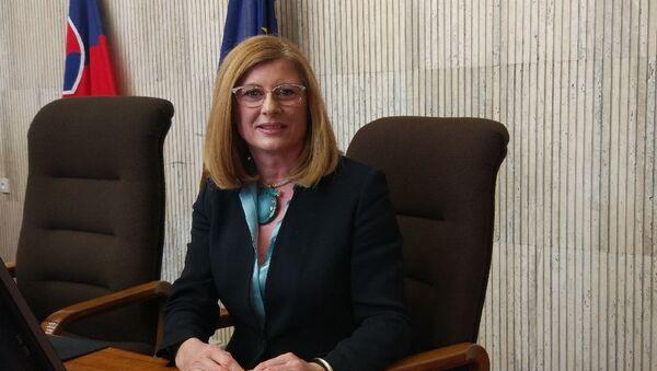 Slovenská ministryně zemědělství Gabriela Matečná  - Sputnik Česká republika