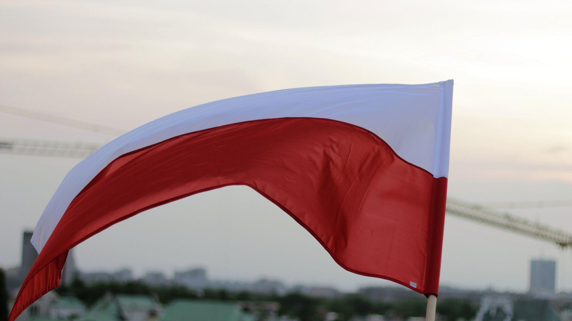 Polská vlajka - Sputnik Česká republika, 1920, 09.08.2021