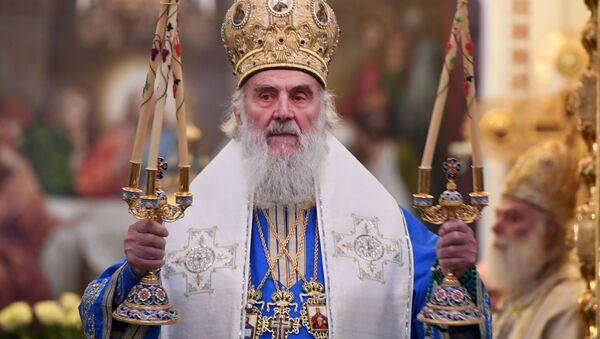 Patriarcha Srbské pravoslavné církve Irenej - Sputnik Česká republika
