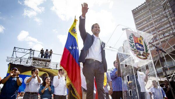 Předseda Národního shromáždění Venezuely Juan Guaidó - Sputnik Česká republika