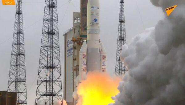 Raketa Ariane 5 ve Francouzské Guyaně odstartovala se dvěma satelity - Sputnik Česká republika