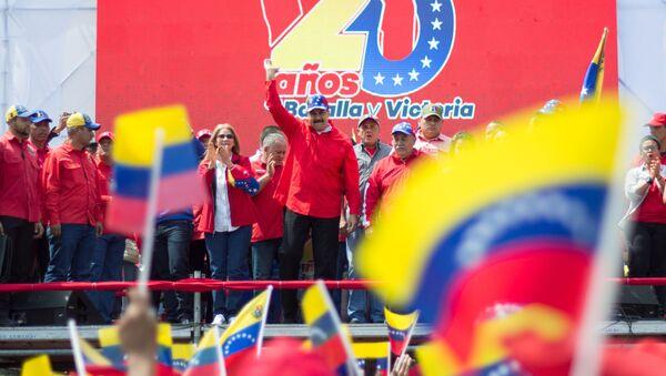 Venezuelský prezident Nikolás Maduro - Sputnik Česká republika