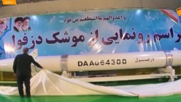 Teherán představil novou balistickou raketu typu země-země - Sputnik Česká republika