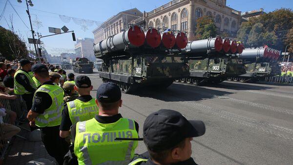 S-300 na přehlídce v Kyjevě - Sputnik Česká republika