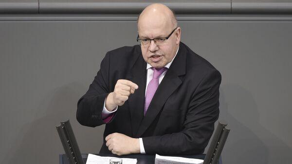 Министр экономики и энергетики ФРГ Петер Альтмайер - Sputnik Česká republika