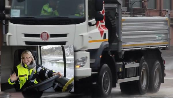 Slovenská hasička brilantně zvládla krizovou situaci za volantem - Sputnik Česká republika