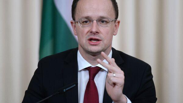 Maďarský ministr zahraničí Péter Szijjártó - Sputnik Česká republika