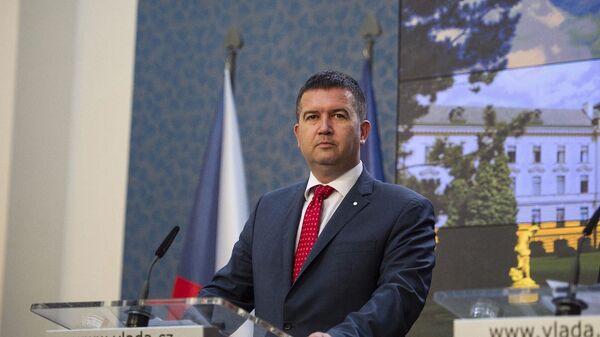 Lídr ČSSD a ministr vnitra Jan Hamáček - Sputnik Česká republika