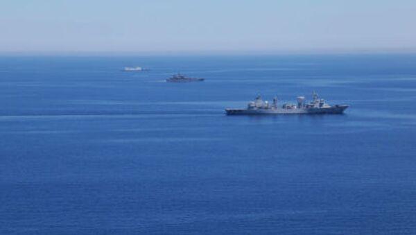 Námořní cvičení Ruska a Číny - Sputnik Česká republika