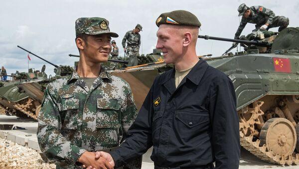 Ruský a čínský voják - Sputnik Česká republika