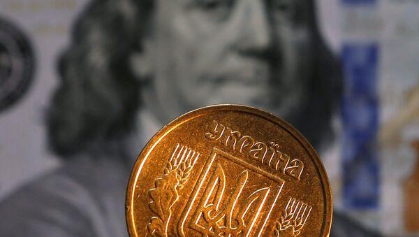 Hřivna a dolar - Sputnik Česká republika