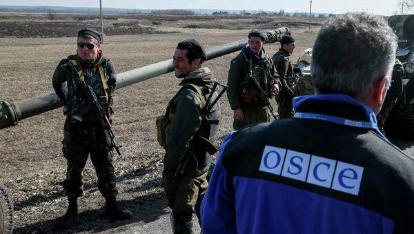 Představitel OBSE - Sputnik Česká republika