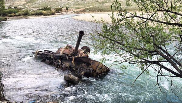 Zbytky sovětských zbraní v Afghánistánu - Sputnik Česká republika