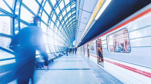 Pražské metro. Ilustrační foto - Sputnik Česká republika