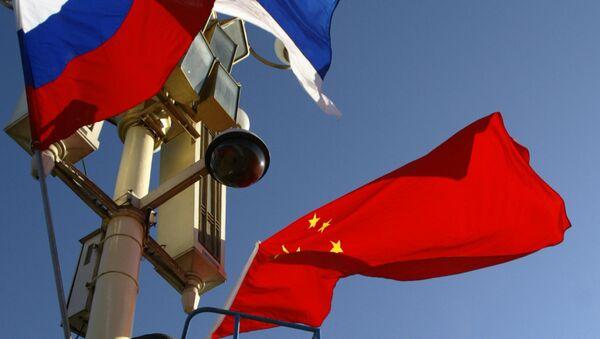 Vlajky Ruska a Číny - Sputnik Česká republika