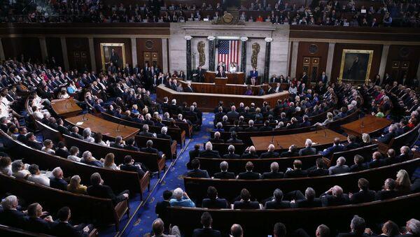 Kongres USA ve Washingtonu - Sputnik Česká republika