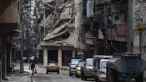 Syrské město Aleppo, ilustrační foto - Sputnik Česká republika