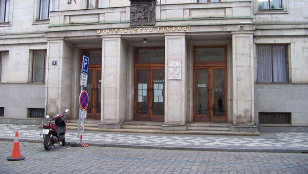 Ministerstvo financí - Sputnik Česká republika