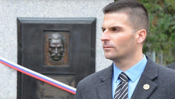 Prezidenský kandidát Róbert Švec - Sputnik Česká republika