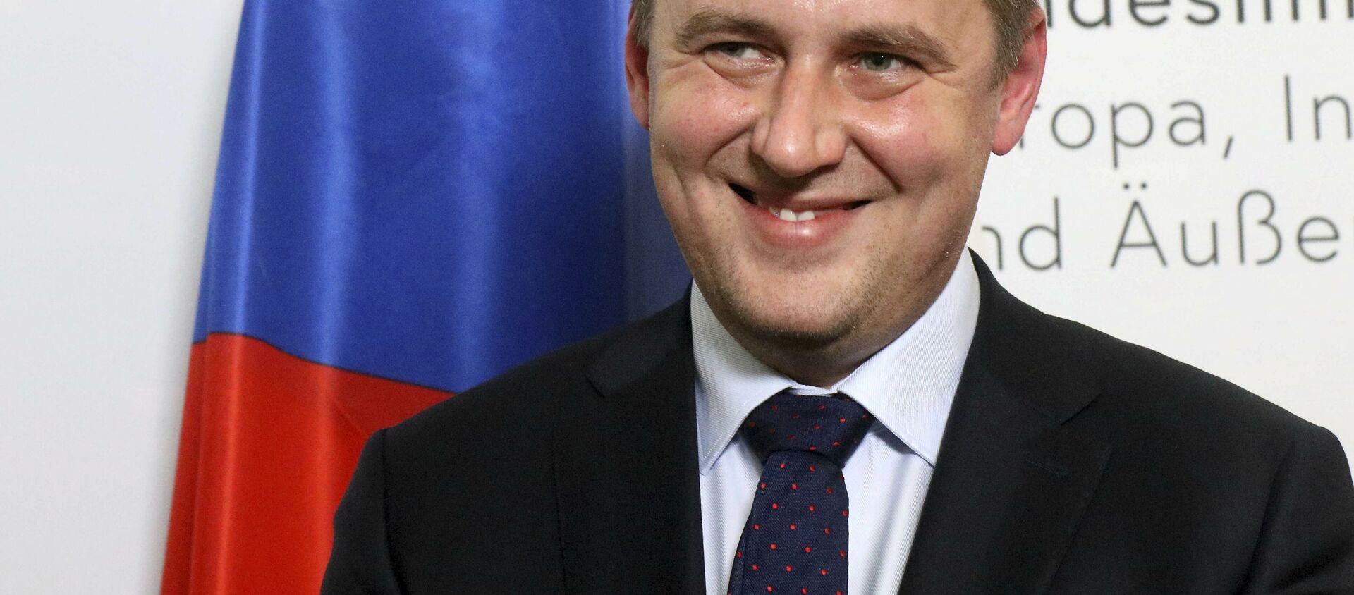 Český ministr zahraničí Tomáš Petříček - Sputnik Česká republika, 1920, 10.09.2020