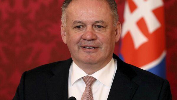 Andrej Kiska  - Sputnik Česká republika