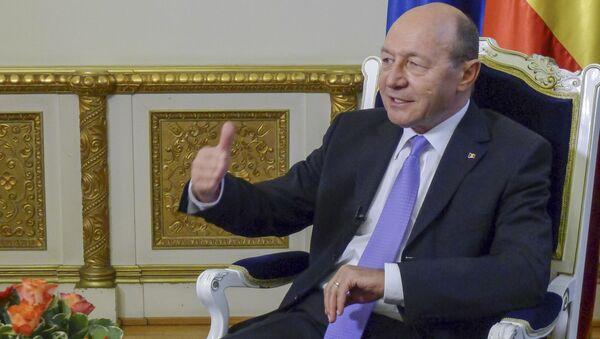 Bývalý prezident Rumunska Traian Băsescu - Sputnik Česká republika