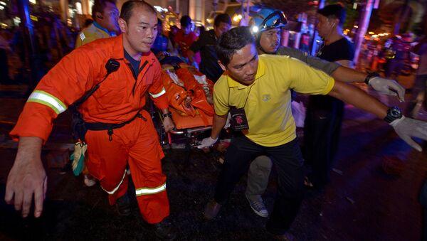 V Bangkoku zahřměl výbuch - Sputnik Česká republika