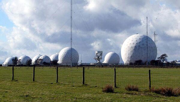 Základna britského královského letectva (RAF) Menwith Hill - Sputnik Česká republika