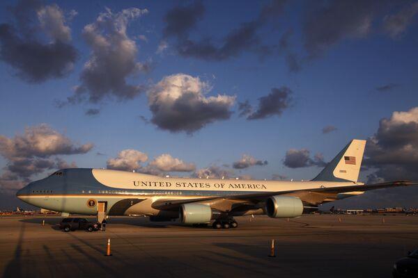 Air Force One - volací jméno letadla, ve kterém se nachází americký prezident - Sputnik Česká republika