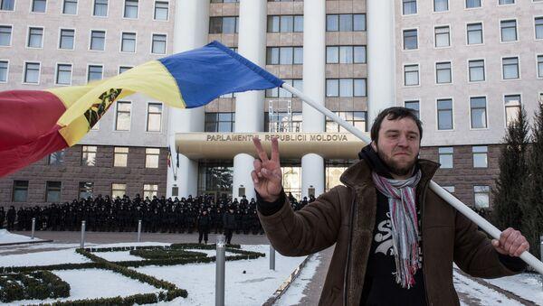 Protestní akce v Kišiněvě. Ilustrační foto - Sputnik Česká republika