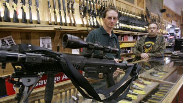 Prodej zbraní v USA - Sputnik Česká republika