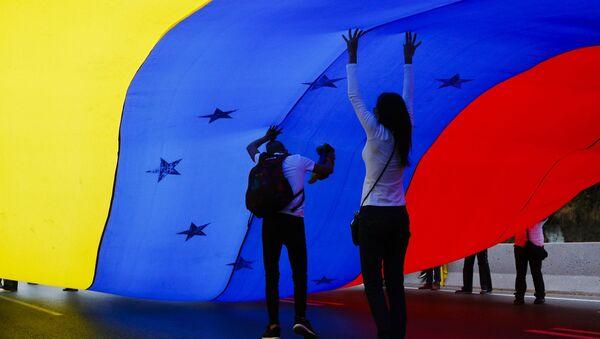 Vlajka Venezuely - Sputnik Česká republika