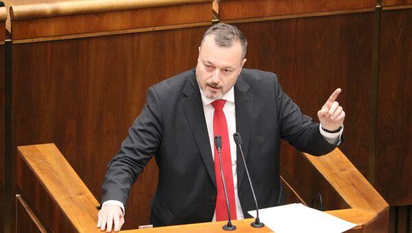 Prezidentský kandidát Milan Krajniak - Sputnik Česká republika