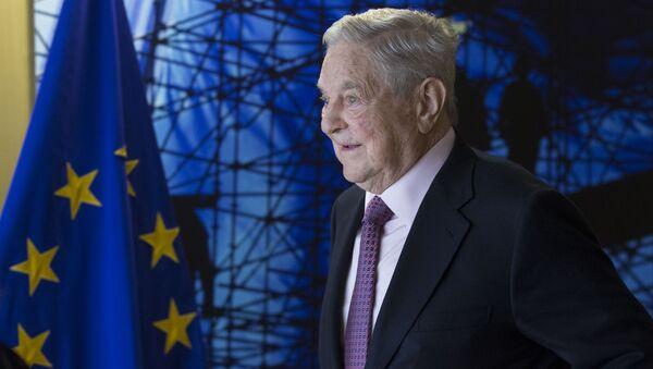 Americký finančník George Soros - Sputnik Česká republika