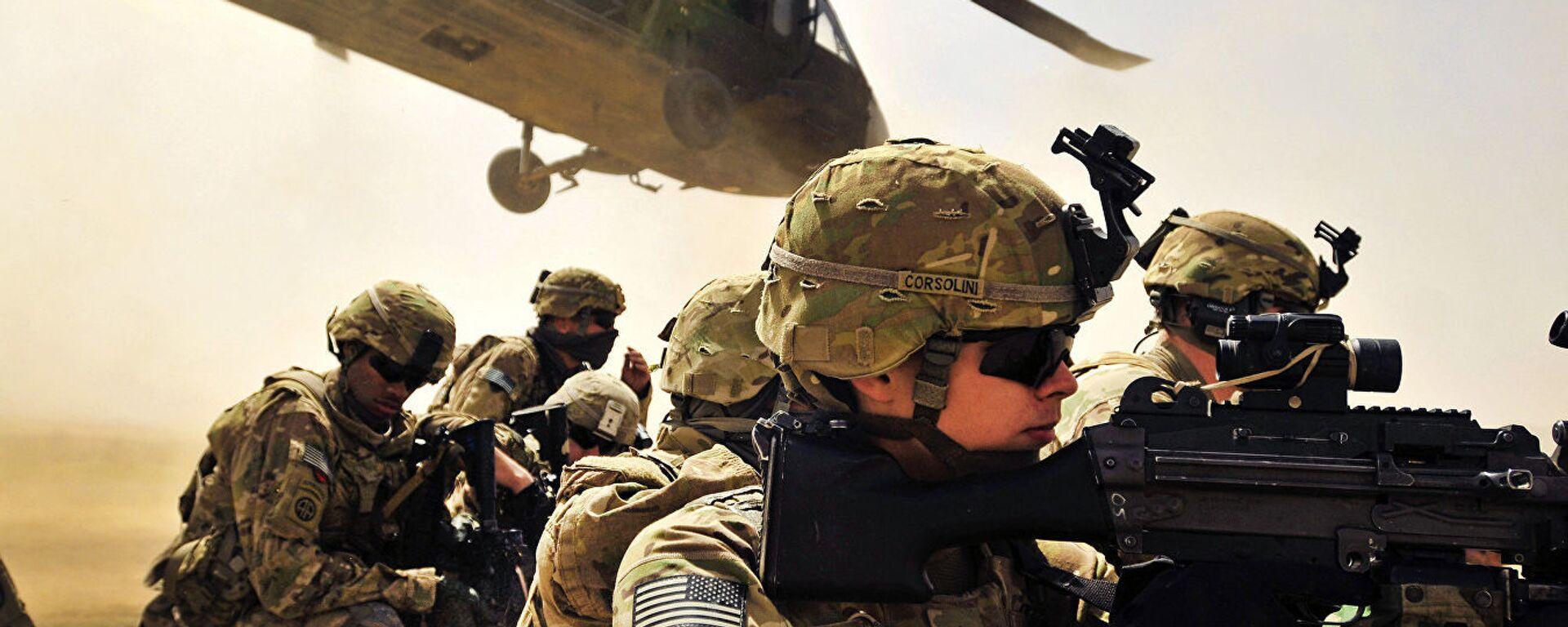 Военнослужащие армии США в провинции Кандагар, Афганистан - Sputnik Česká republika, 1920, 27.08.2021