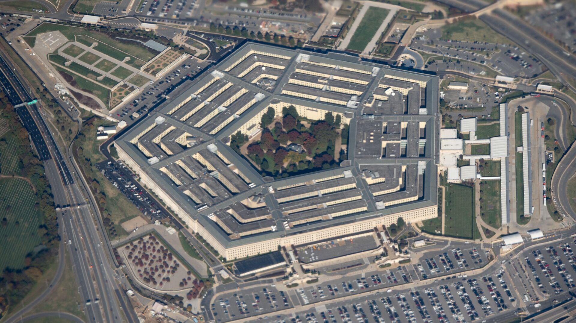 Pohled na budovu Pentagonu ve Washingtonu, USA - Sputnik Česká republika, 1920, 03.08.2021