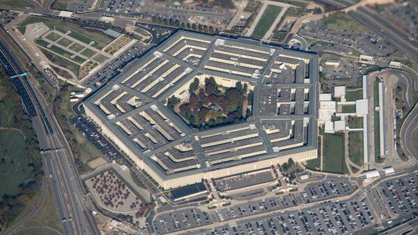 Pohled na budovu Pentagonu ve Washingtonu, USA - Sputnik Česká republika