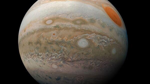 Новая фотография Юпитера, полученная зондом Juno NASA - Sputnik Česká republika