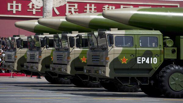Čínské rakety - Sputnik Česká republika