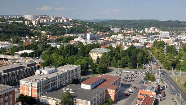 Pohled na české město Zlín - Sputnik Česká republika